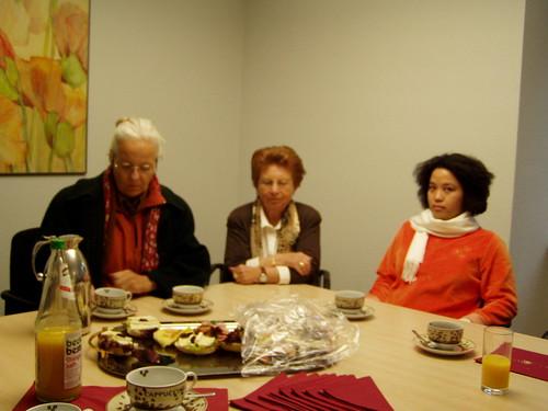 Teilnehmerinnen am Erfahrungsaustausch zum Thema Fairer Welthandel aus Dillenburg