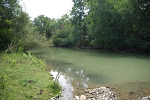 Stanislaus River -- before restoration