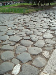 cobblestones in Rome by Malou7
