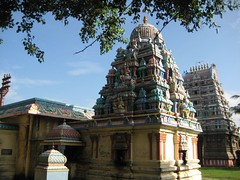 Agastheeswarar Shrine Vimanam and Rajagopuram