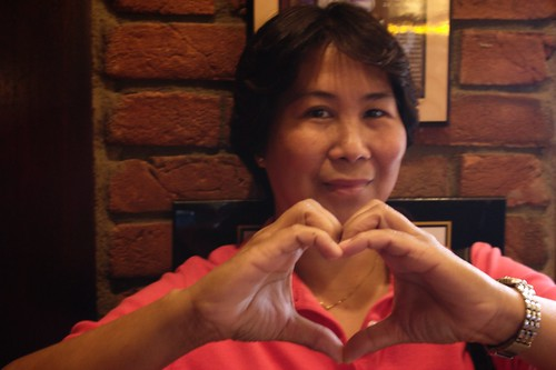 Mom heart me