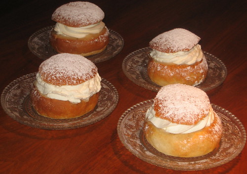 Semlor - Shrove Tuesday buns