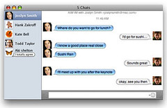 Mac OS X Leopard - iChat