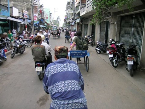 Bike trailer ride