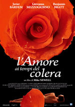 Locandina del film L'amore ai tempi del colera