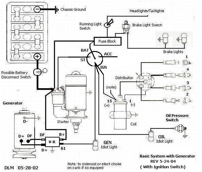 air cooled vw wiring diagram