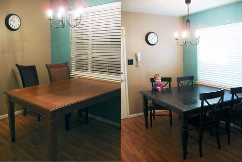 Before and After Dining area
