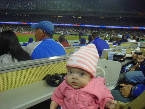 First Baseball Game