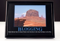 """Blogging: Never Before Have So Many People Wi..."