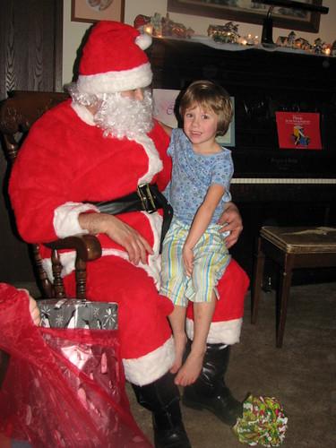 Emily & Santa