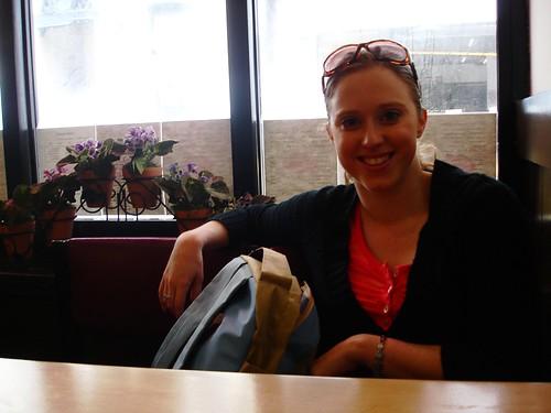 Kat in the Japanese Restuarant, SF
