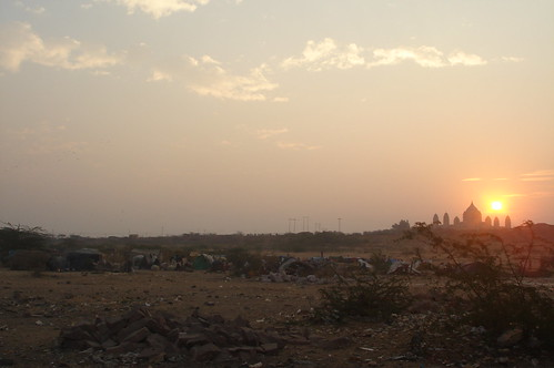 Jodhpur街景1-14日出