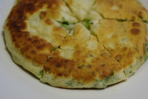 scallion chive bread