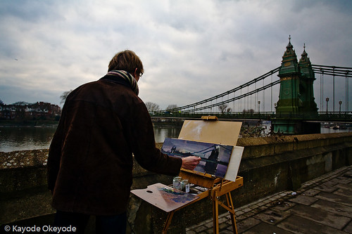 Hammersmith Bridge Painter