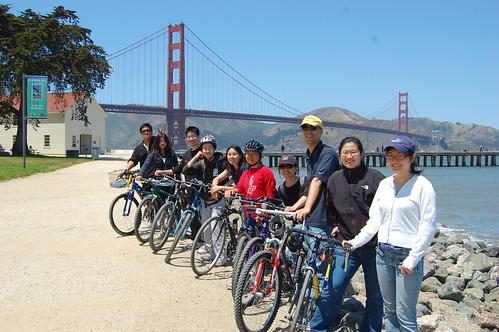 Crossed the Golden Gate Bridge!