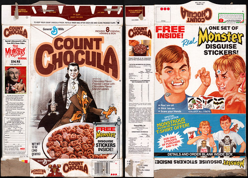 Dracula monster cereal