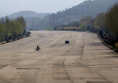 North Korean highway - DPRK