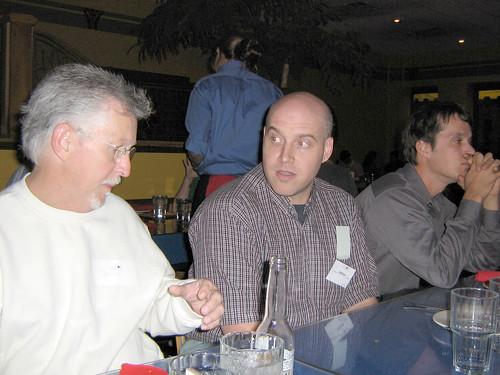 David, James and Todd