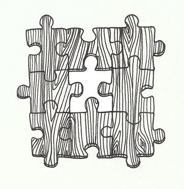 moleskine puzzle piece doodles puzzleAaron_v02_small · puzzleSarah_v02_small