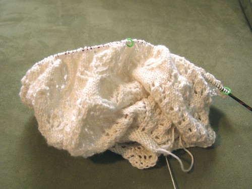 lump of lace