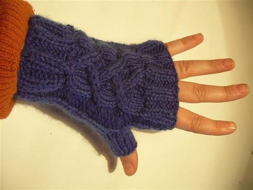 Evangeline's mittens