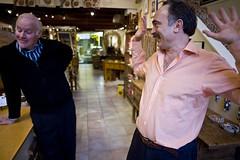 Marc Silber and Mahmut Keskekci
