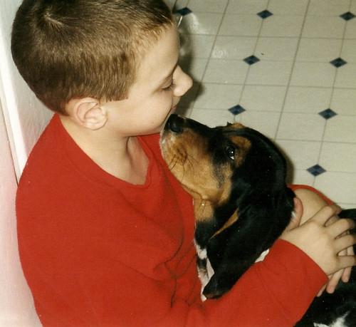 Eric & Lady (puppy)