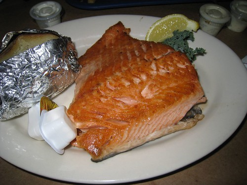 Greg's grilled salmon