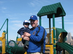 J & J at the park