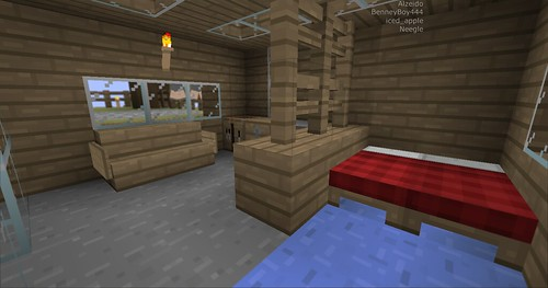 Minecraft - New Living Area