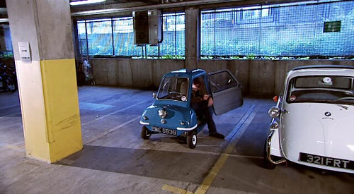 smallest car ever built, clarkson, jeremy, topgear, tall, small, car, peel p50