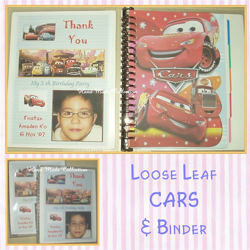 Binder & Loose Leaf CARS