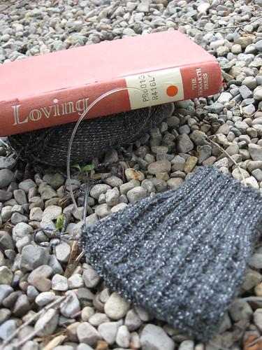 Yarn-Along 8/06/2011