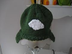 Itty Bitty Football Hat