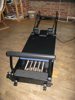 My New IQ Pilates Reformer