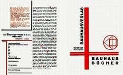 Lászlo Moholy - Nagy. Prospecto para ediciones de la Bauhaus. 1924.