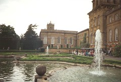 Blenheim Palace - Fountain - 1993