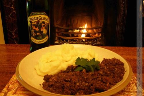 Schottland-Erstes Haggis