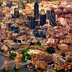 Aerial Shot of London