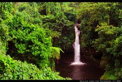 Afu Aau Falls on Southern Savaii