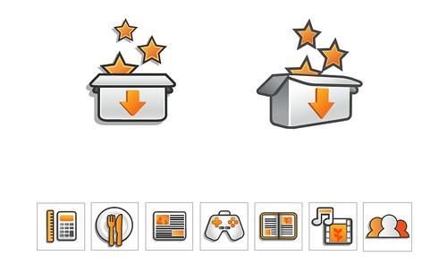 Orange Icons