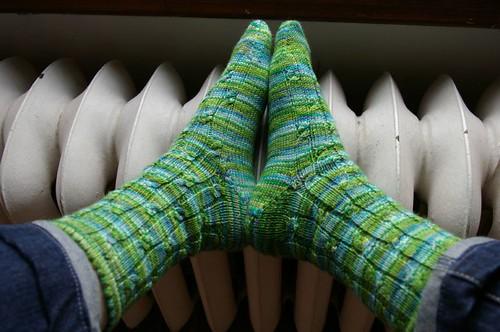 Sockamania Simply Cables socks