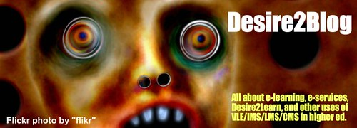 Desire2Blog Header