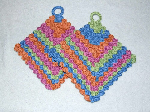 * I love this dishcloth - Ive made a couple & its really fun to crochet!