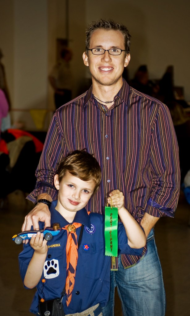 The Pinewood Derby - He Cried When we Lost