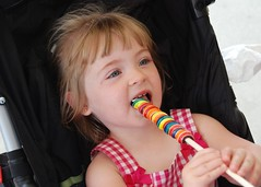 Ryleah & her Lolly Pop!