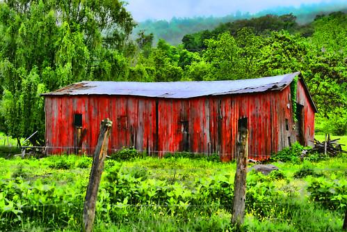 The Swayback Barn
