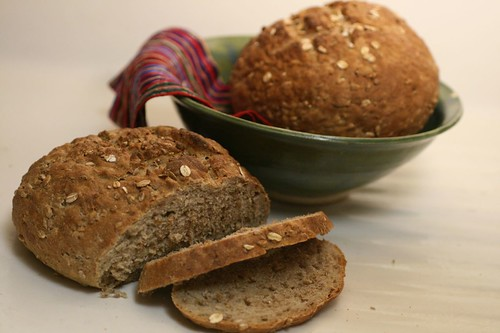 Honey Multigrain Bread in bowl