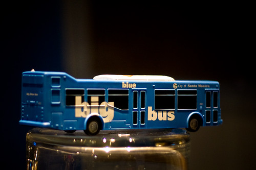 Tiny Big Blue Bus
