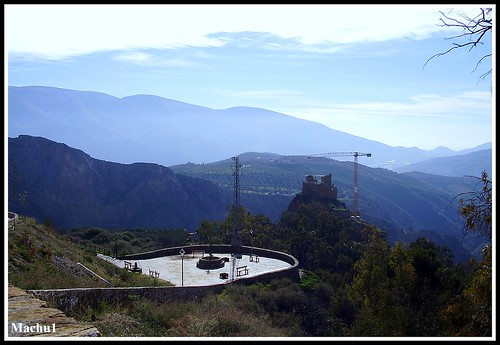 La vallée de Lanjaron, près du Caballo Blanco